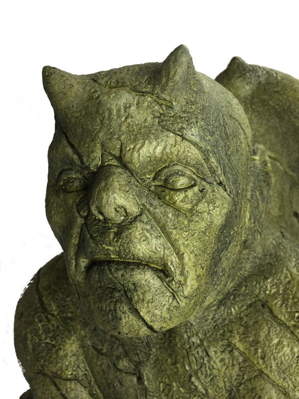 Brutus Gargoyle ancient concrete patio statue