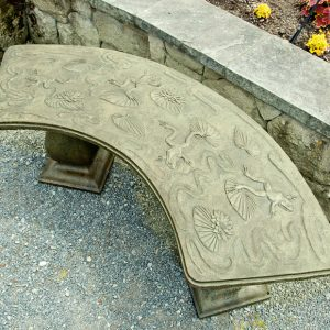Frog Bench - Curved garden