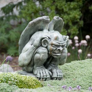 Giddian medium Gargoyle medieval concrete statue for garden