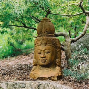 Head of Shiva buddha ornament for garden