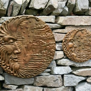 La- Lune moon wall plaque