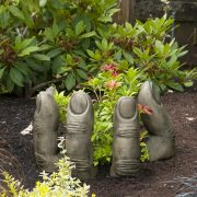 Nature's Helping Hand garden ornament