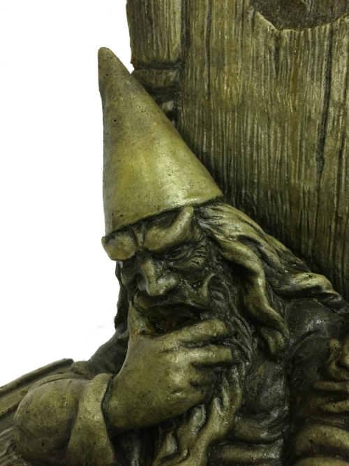 Merlin the Wizard, concrete statue for yard