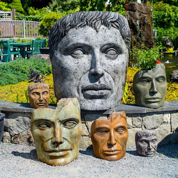 Young Emperor Collection of faces for the garden