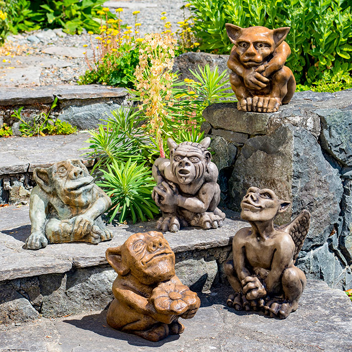 Gargoyle Collection for the garden