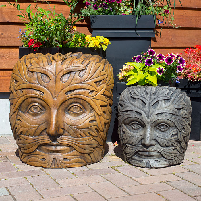 Greenman Face Collection for garden
