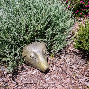 Heather Hog - Medium, garden hedgehog ornament