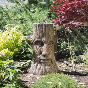 Treebor large tree face,treeman, concrete outdoor statue