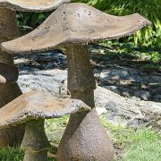 "Garden Mushroom 27"" ornamental concrete outdoor Statue"