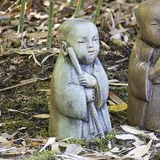 Jizo Bosatsu Child - The Protector, concrete Buddha garden ornament, statue