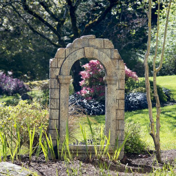 Window Arch Ruin Garden Folly statue