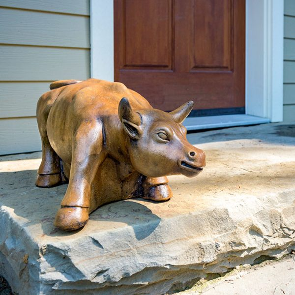 Dollar Bull Garden Ornament