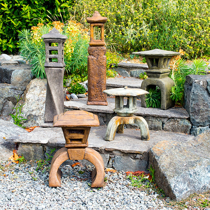 Japanese Lantern Collection for the garden