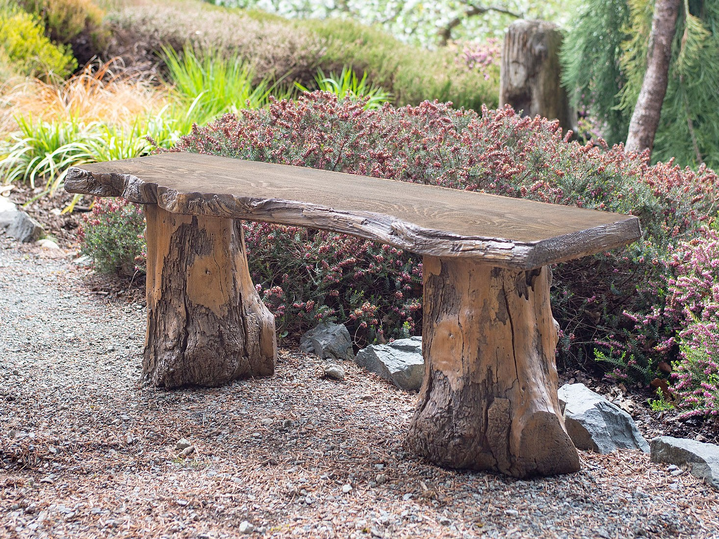 Groovy Live Edge Bench Driftwood Bases Evergreenethics Interior Chair Design Evergreenethicsorg